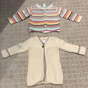 Other - Girl's Lot of 2 sweaters size 18-24 months